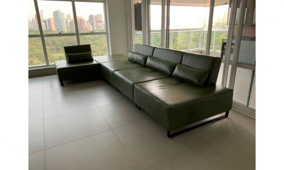 Sofá modular com encostos retráteis - Cliente Maringá/PR